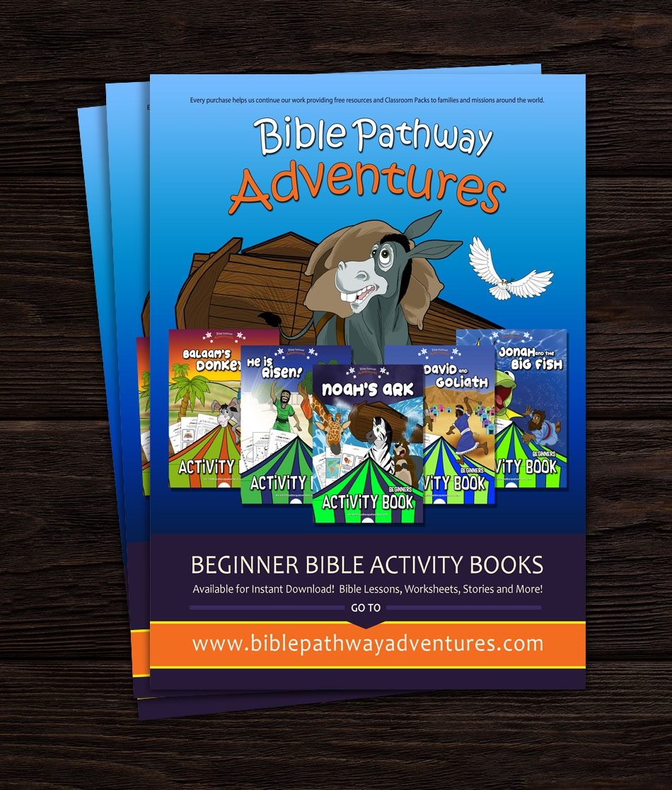 Custom Magazine Advertisement Design For Children's Ministry