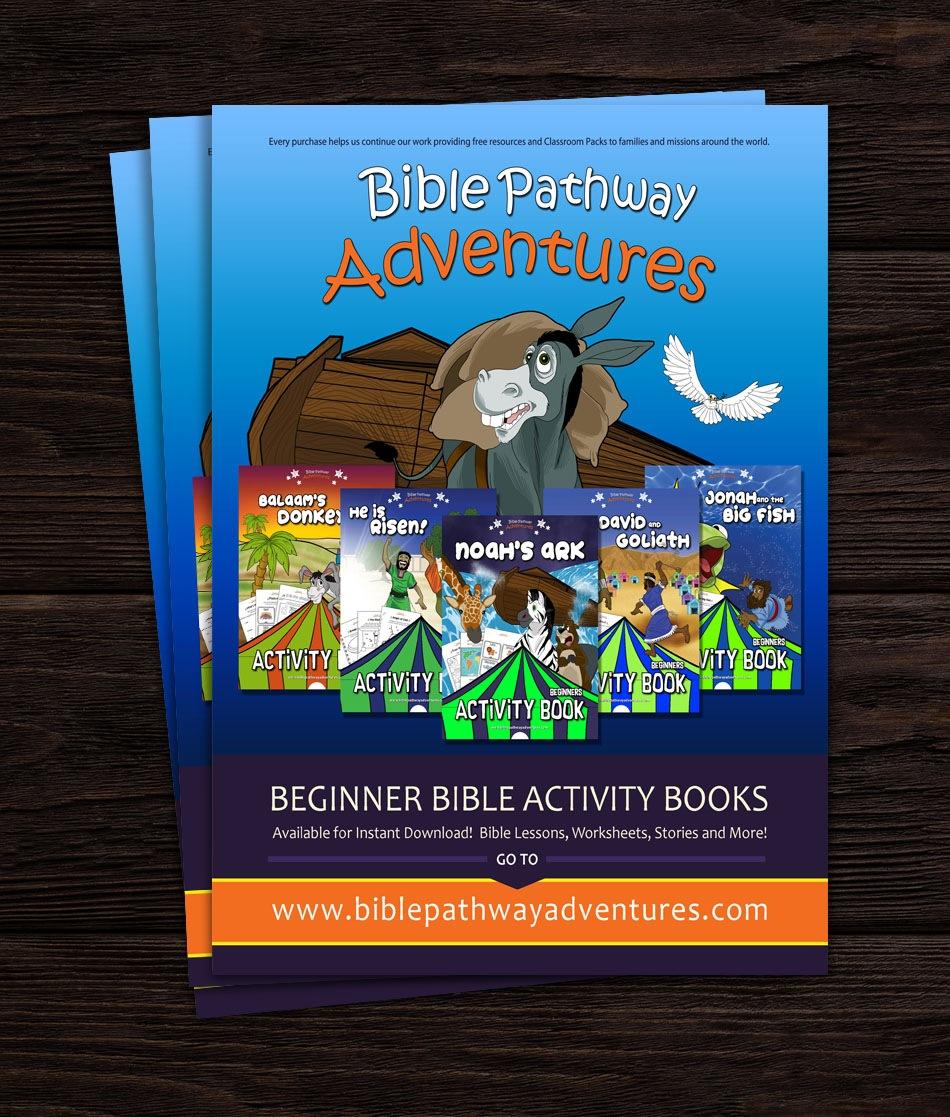 Custom Magazine Advertisement Design For Children's Ministry