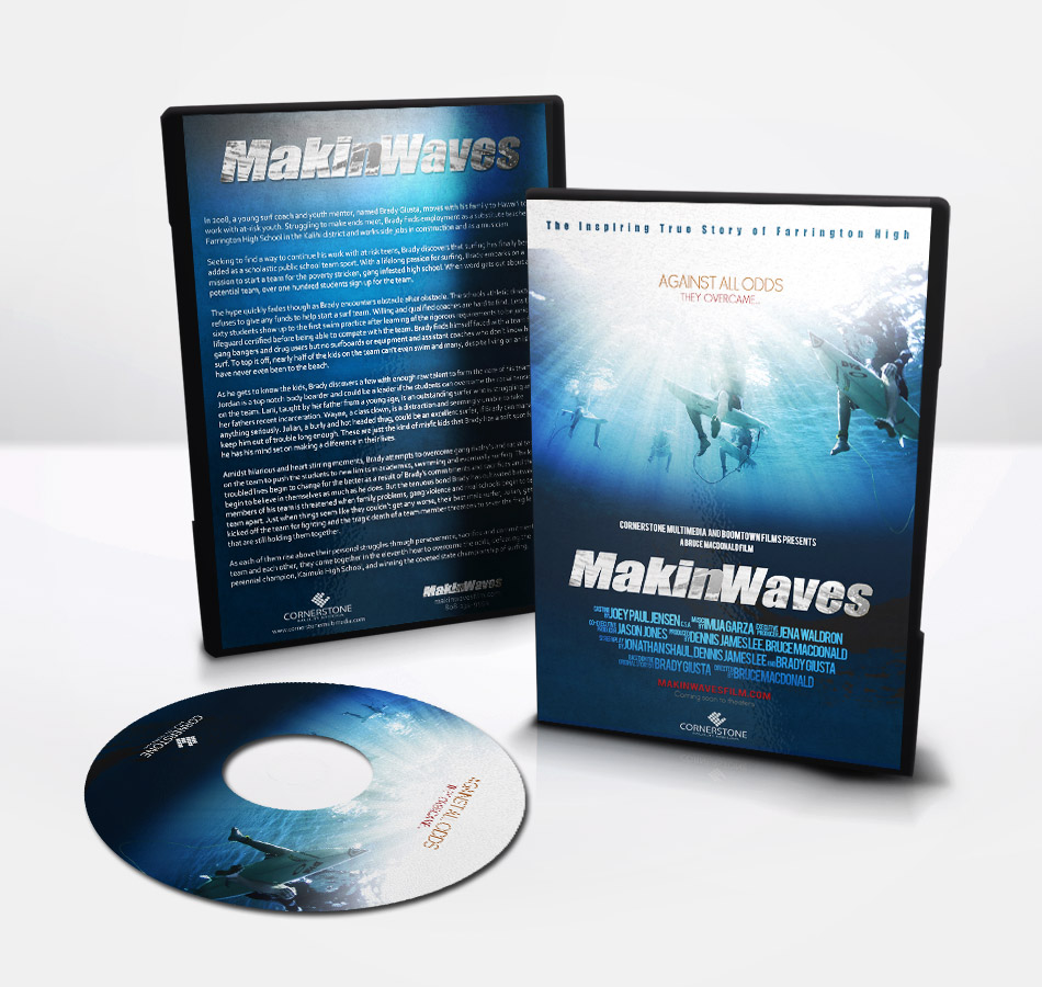 DVD Cover Design - Movie Hawaiian Christian MakingWaves