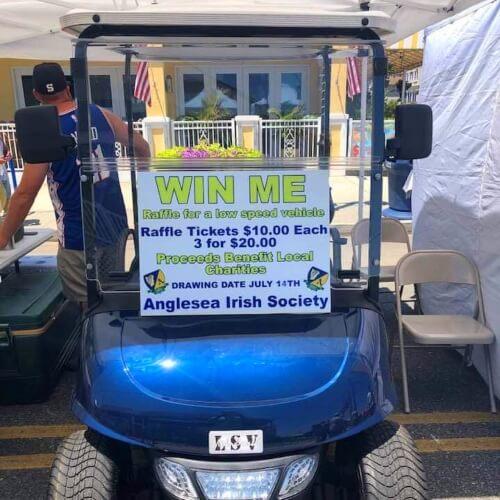 Anglesea Irish Society Raffle