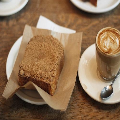 cinnamon toast and coffee