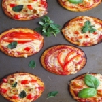 Cauliflower Base Mini Pizzas