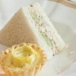 Green Grape Chicken Salad Sandwiches