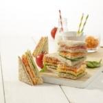 Traffic Light Sandwich Stacks