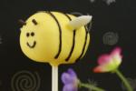 bee cake pops