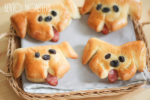 Doggy sausage Bread