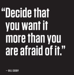 decide you want it