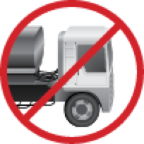 No Hauling Icon