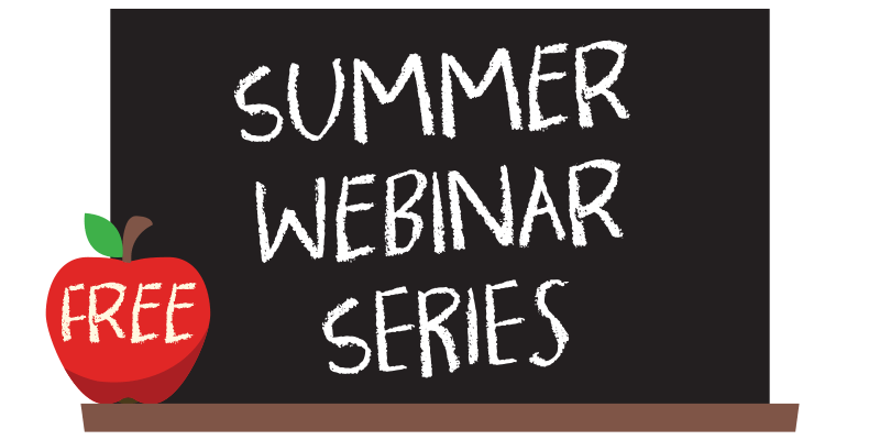 Summer webinar series logo