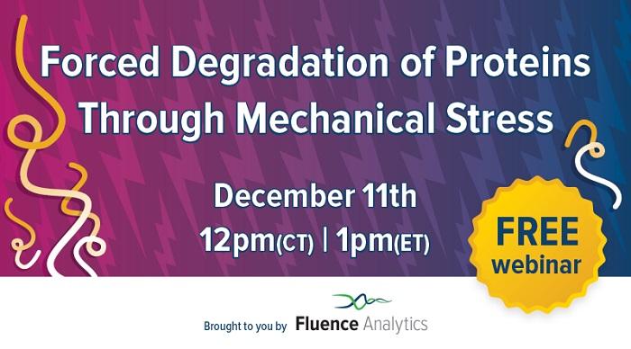 Webinar Forced Protein Degradation