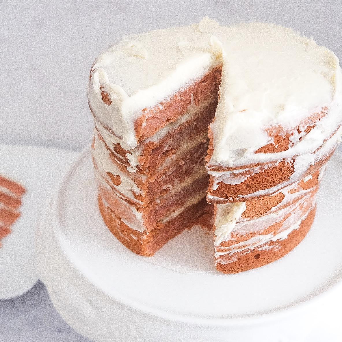 Baking My First Cake: Guava Cake