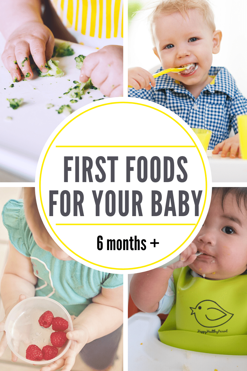 First Foods for Your Baby