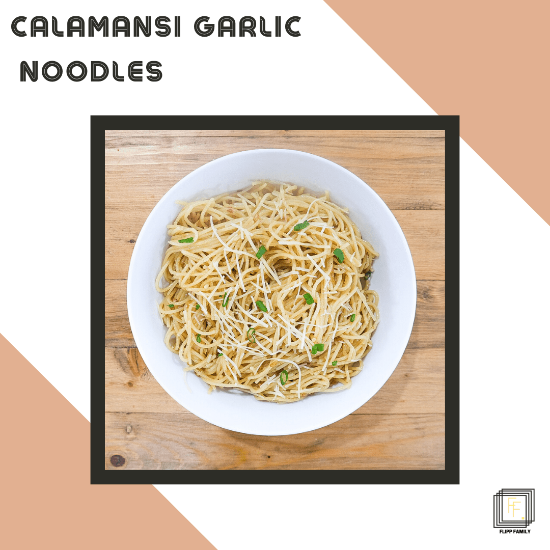 Quick and Easy Garlic Noodles – Filipino Style