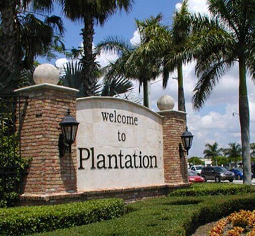 plantation entrance