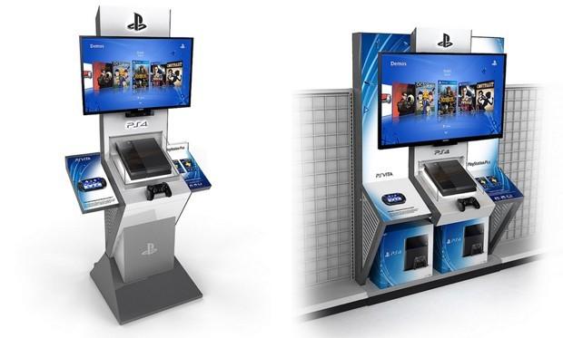 PS4 Kiosks