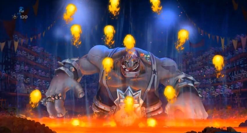 Rayman Legends Boss Battles