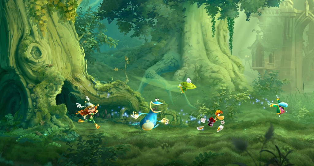 Rayman Legends Multiplayer