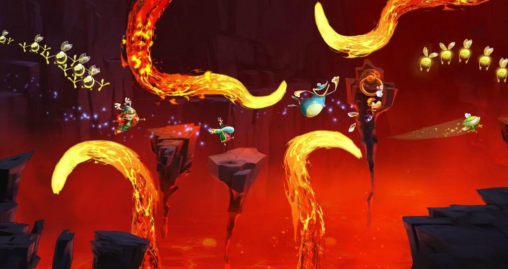 Rayman Legends Jumping