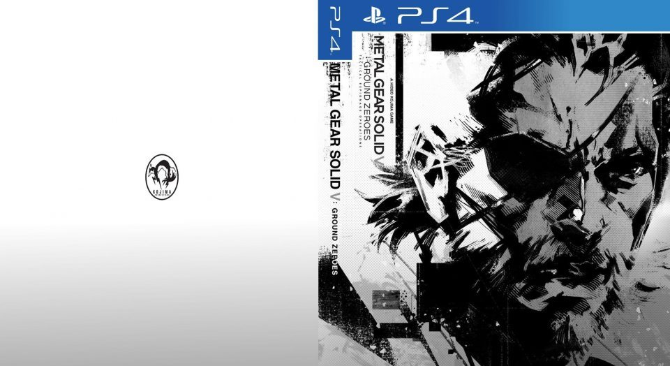 Reverse cover for PS4