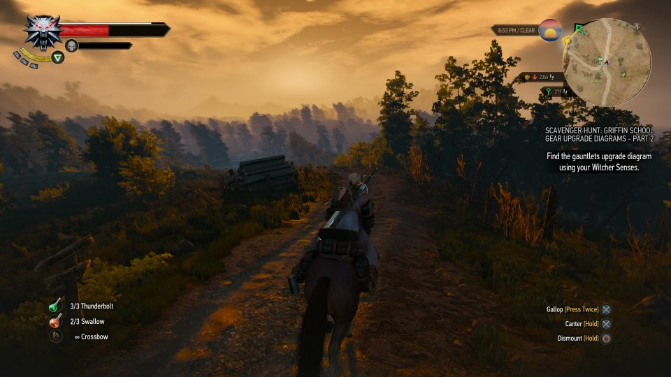 Even my faithful Horse, Roach, was amazing looking and faithful...mostly..