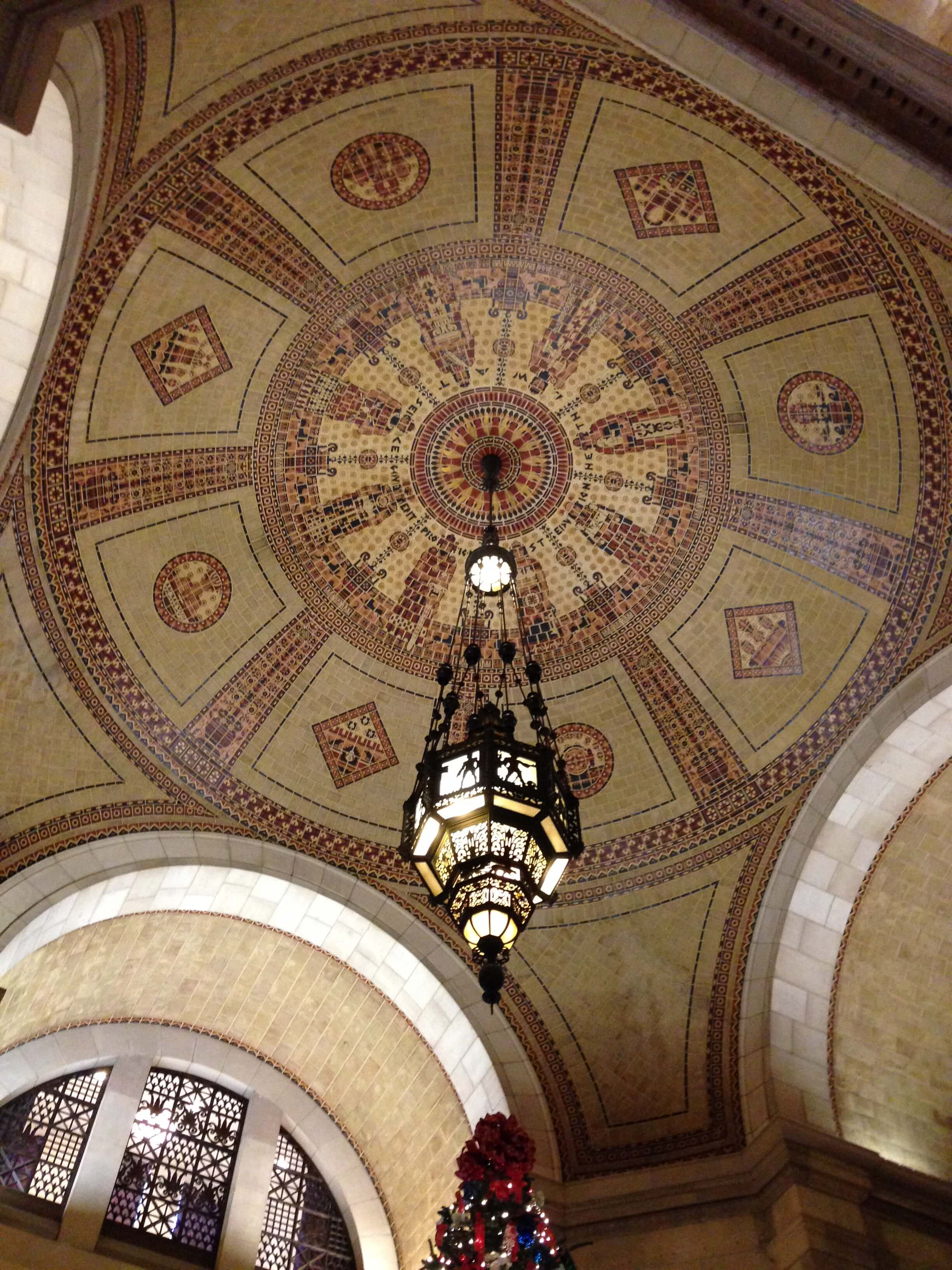 Ceiling of the rotunda