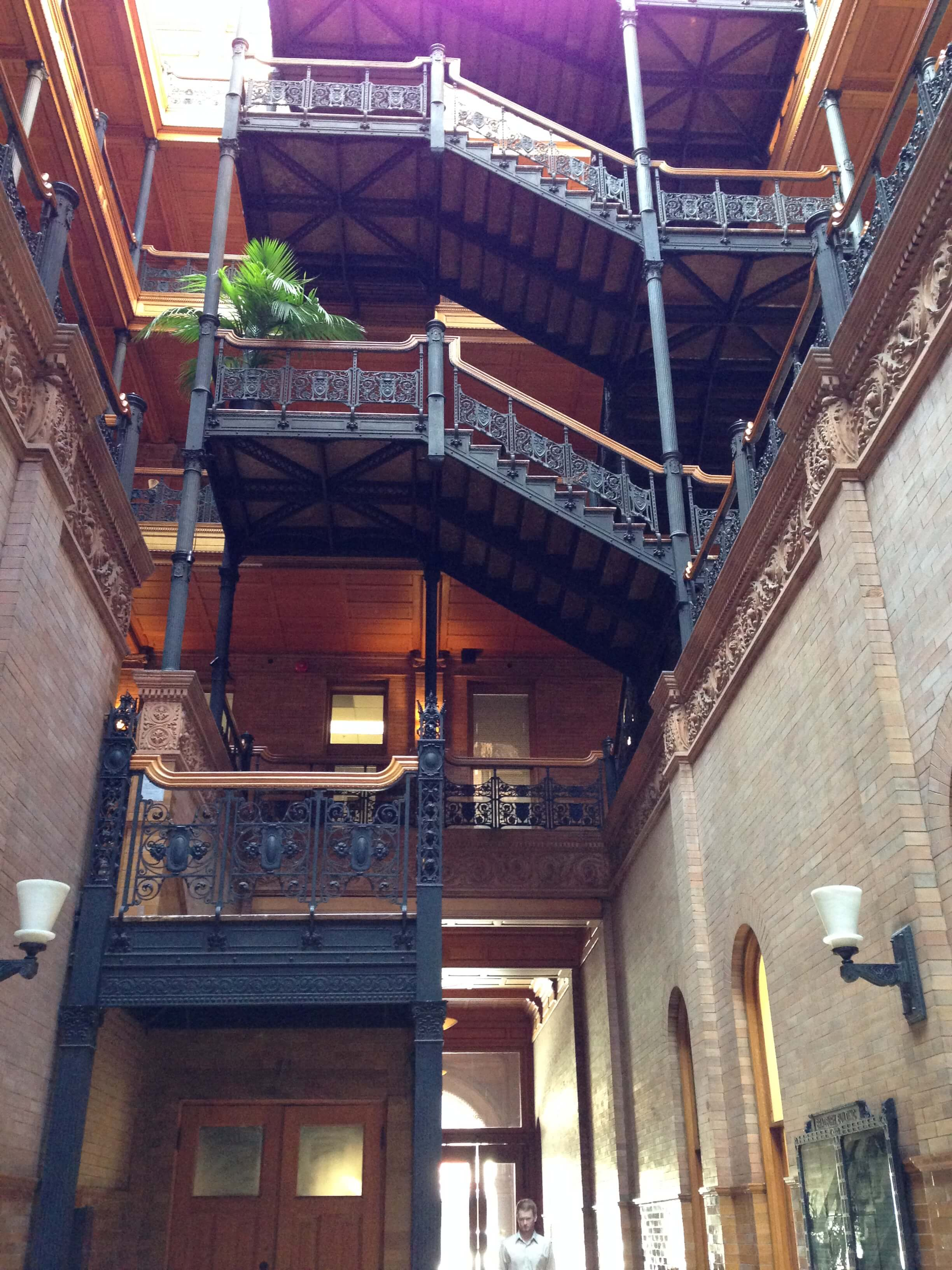 Lobby/Atrium of the Bradbury Building