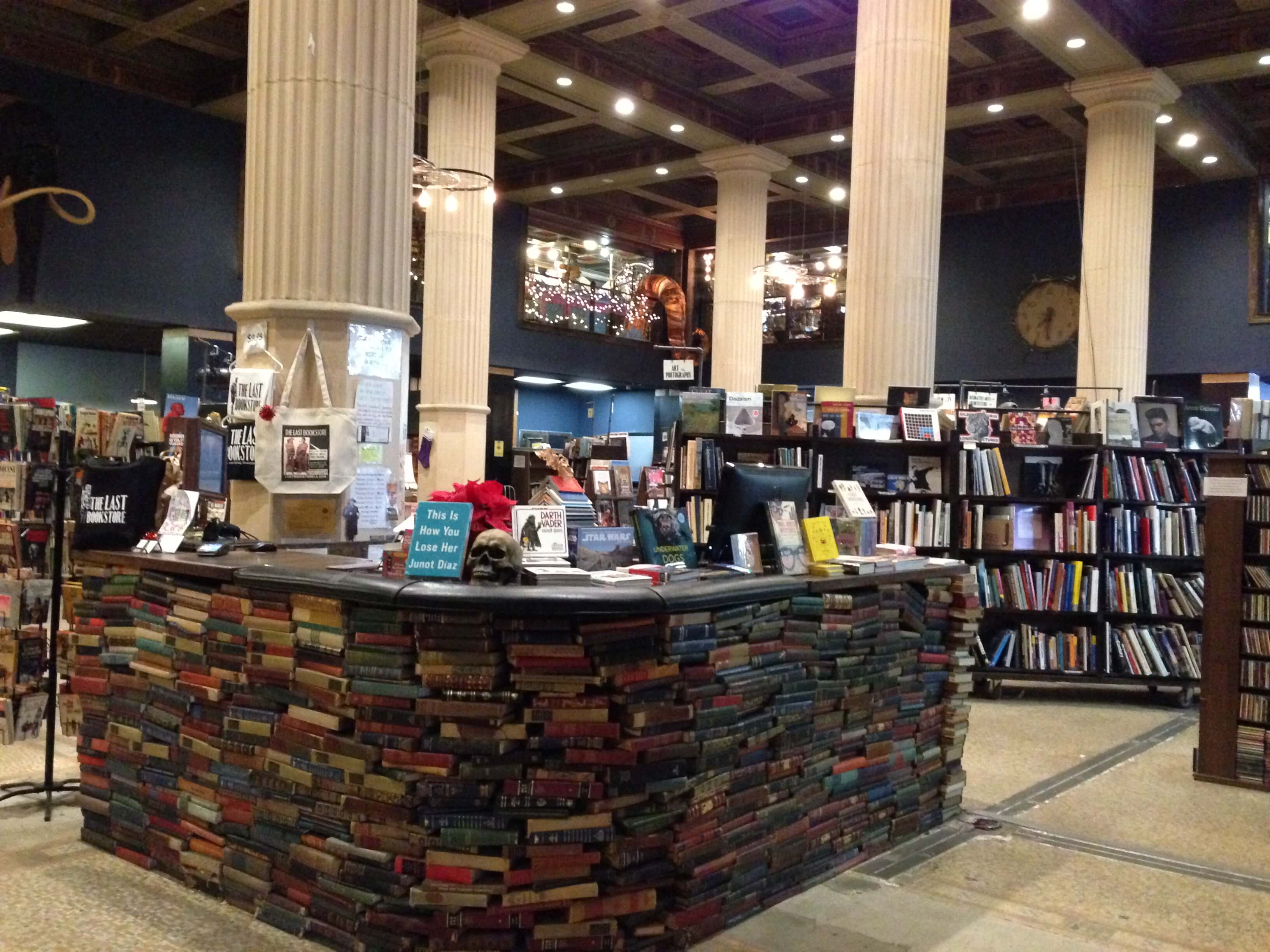 Lobby of the Last Bookstore