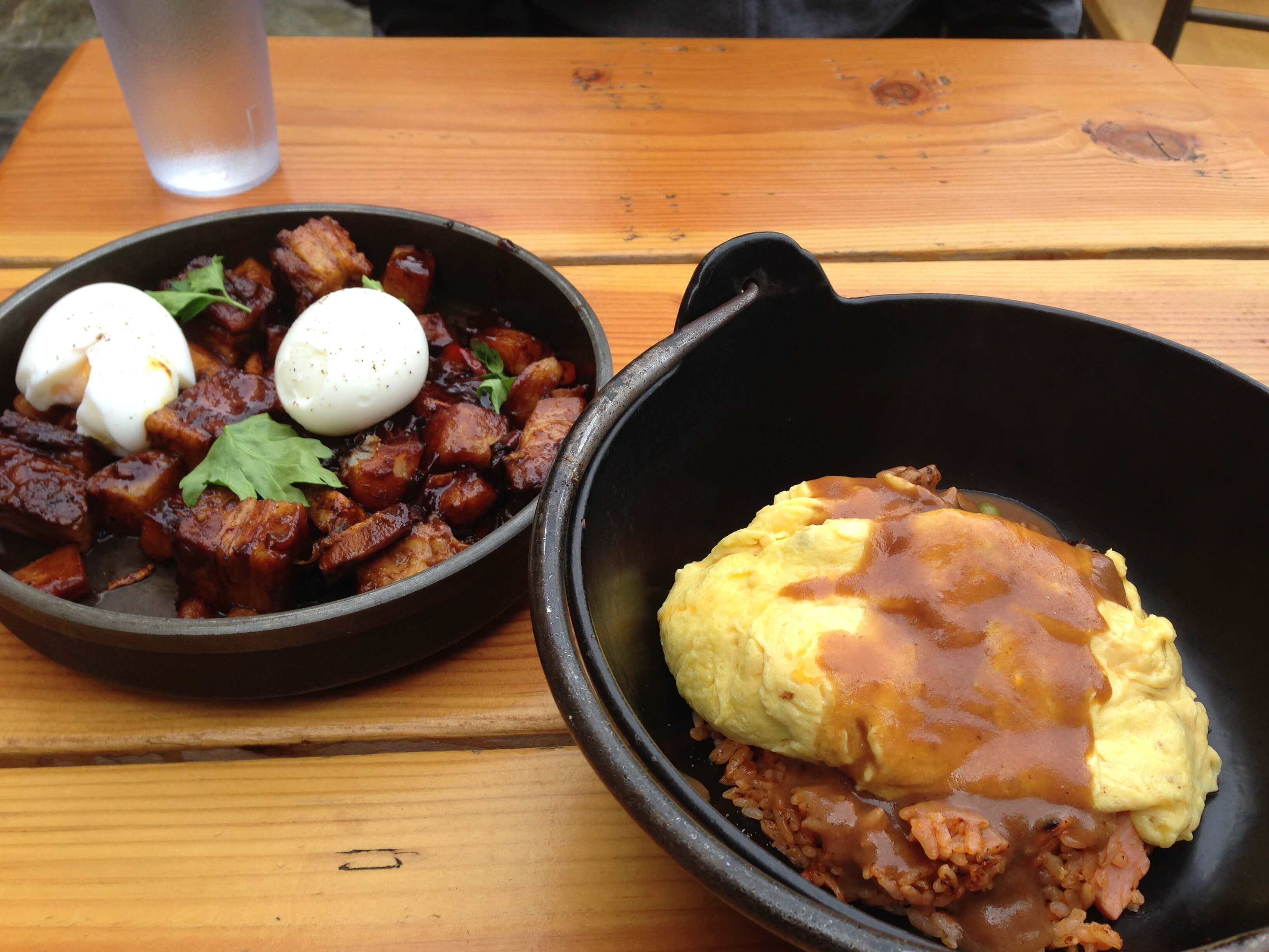Chashu Hash and Pork Omurice