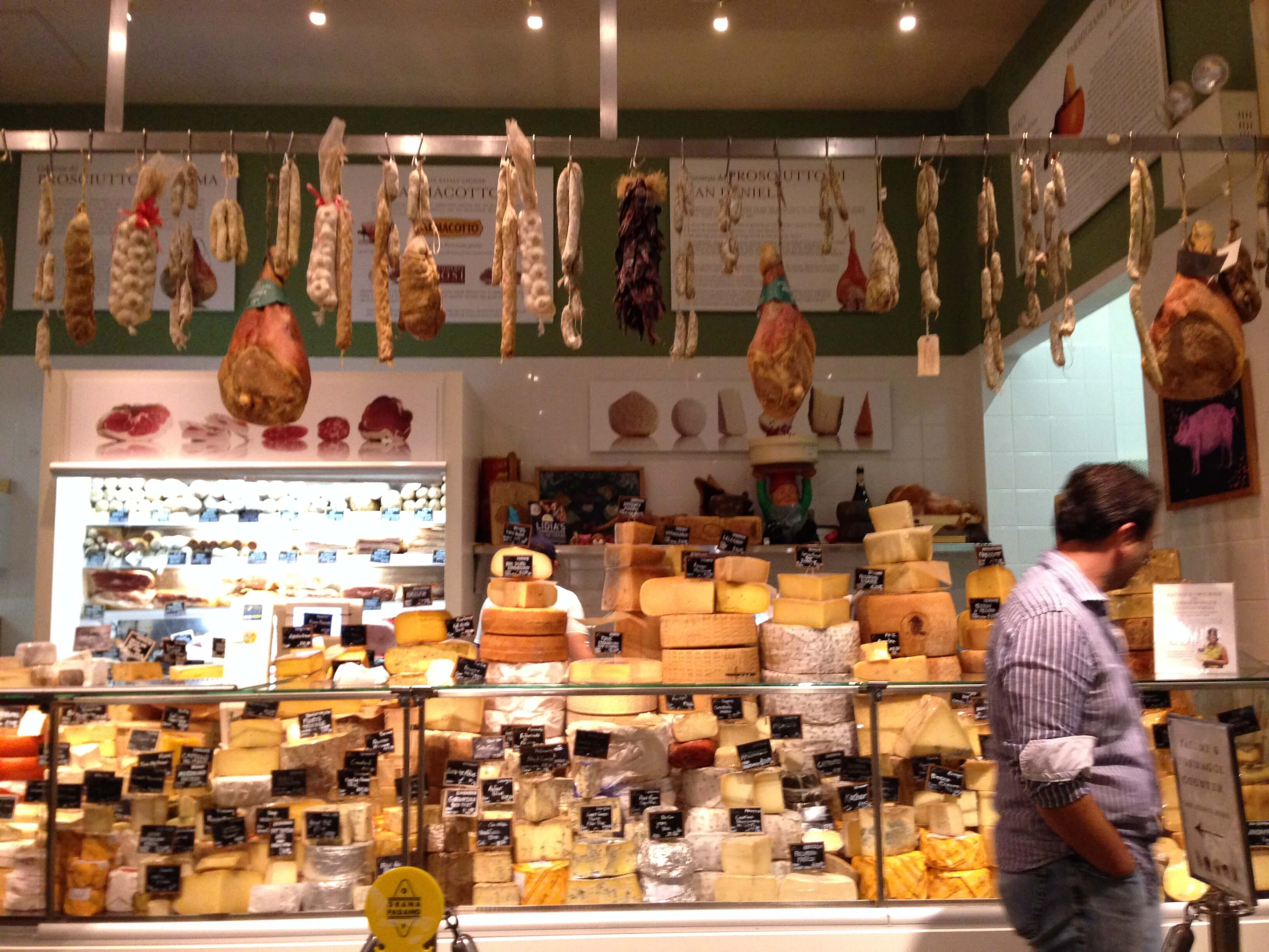 I took my time browsing Eataly in NYC!