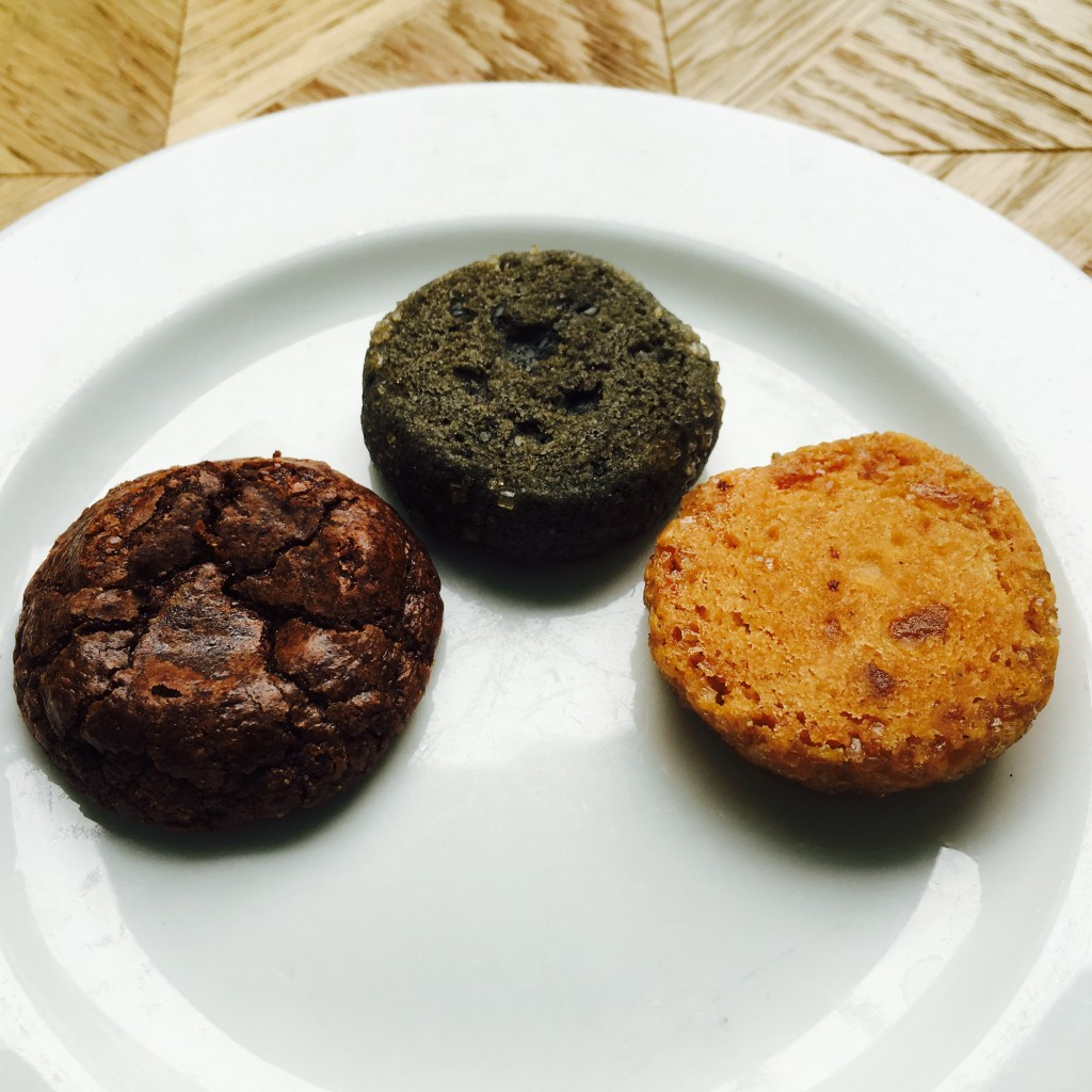 Handmade Cookies - Double Chocolate, Black Sesame, Candied Ginger