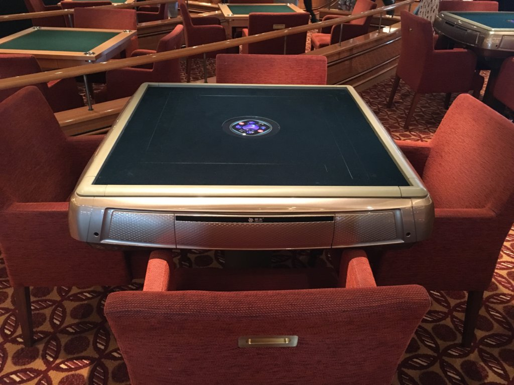 Special Electric Mahjongg table
