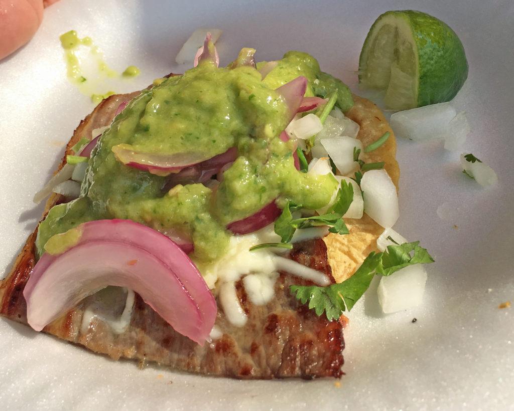 Taco from Tacos Quetzalcoatl