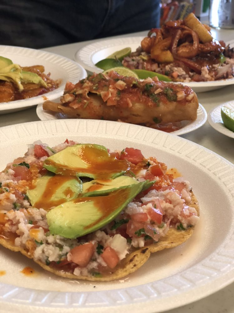 Tacos from Mariscos Jaliscos