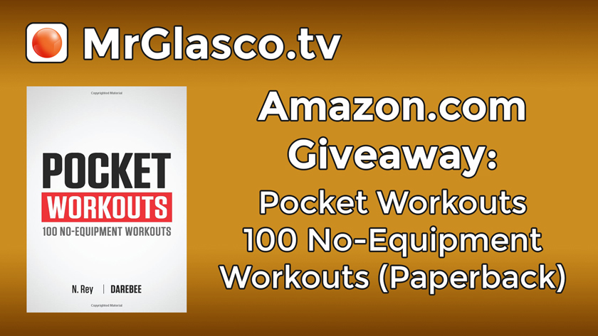 Amazon.com Giveaway: Pocket Workouts 100 No-Equipment Workouts