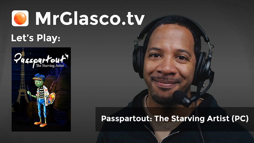 Let's Play: Passpartout: The Starving Artist (PC) Doki Doki Art