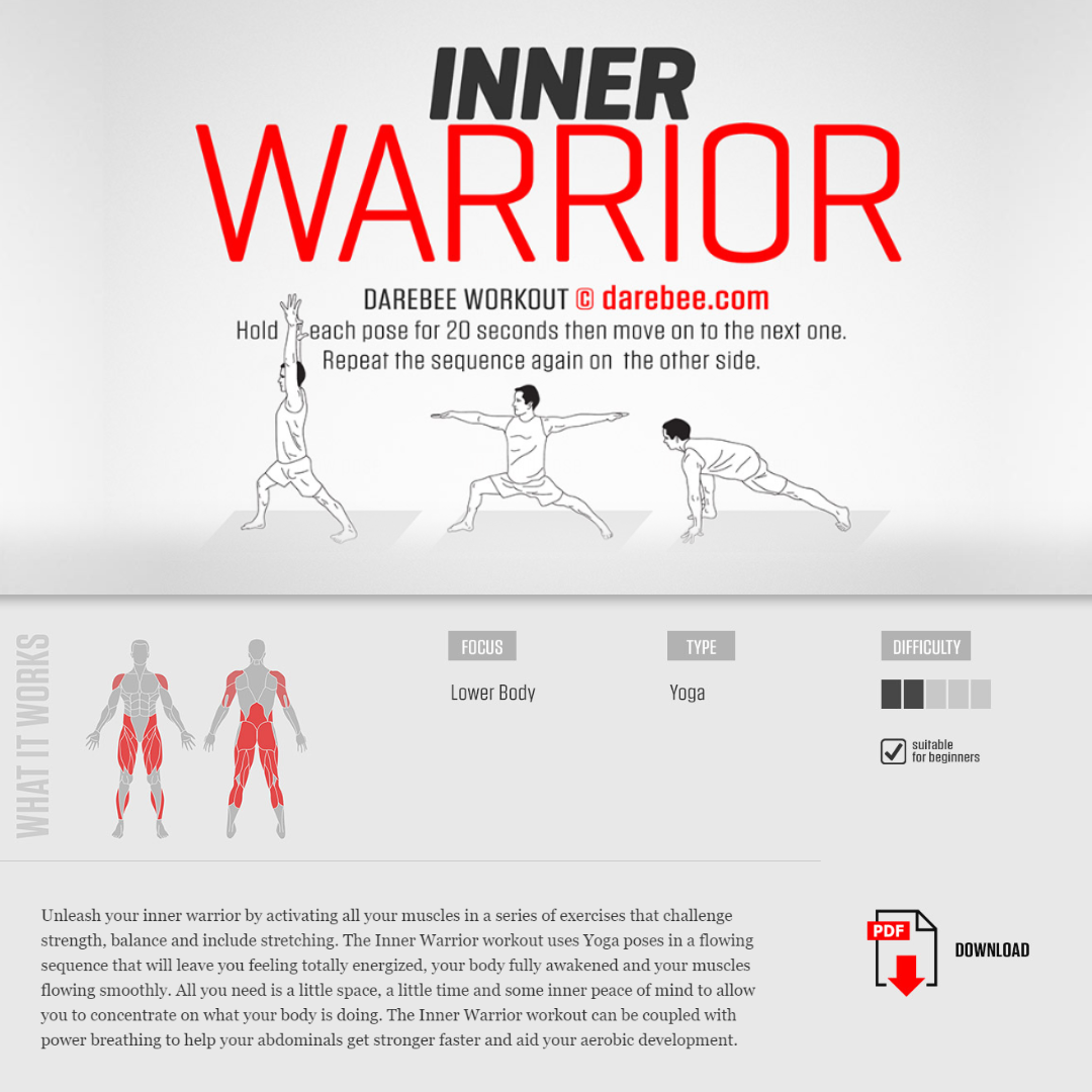 #PreGaming: DAREBEE Inner Warrior Workout