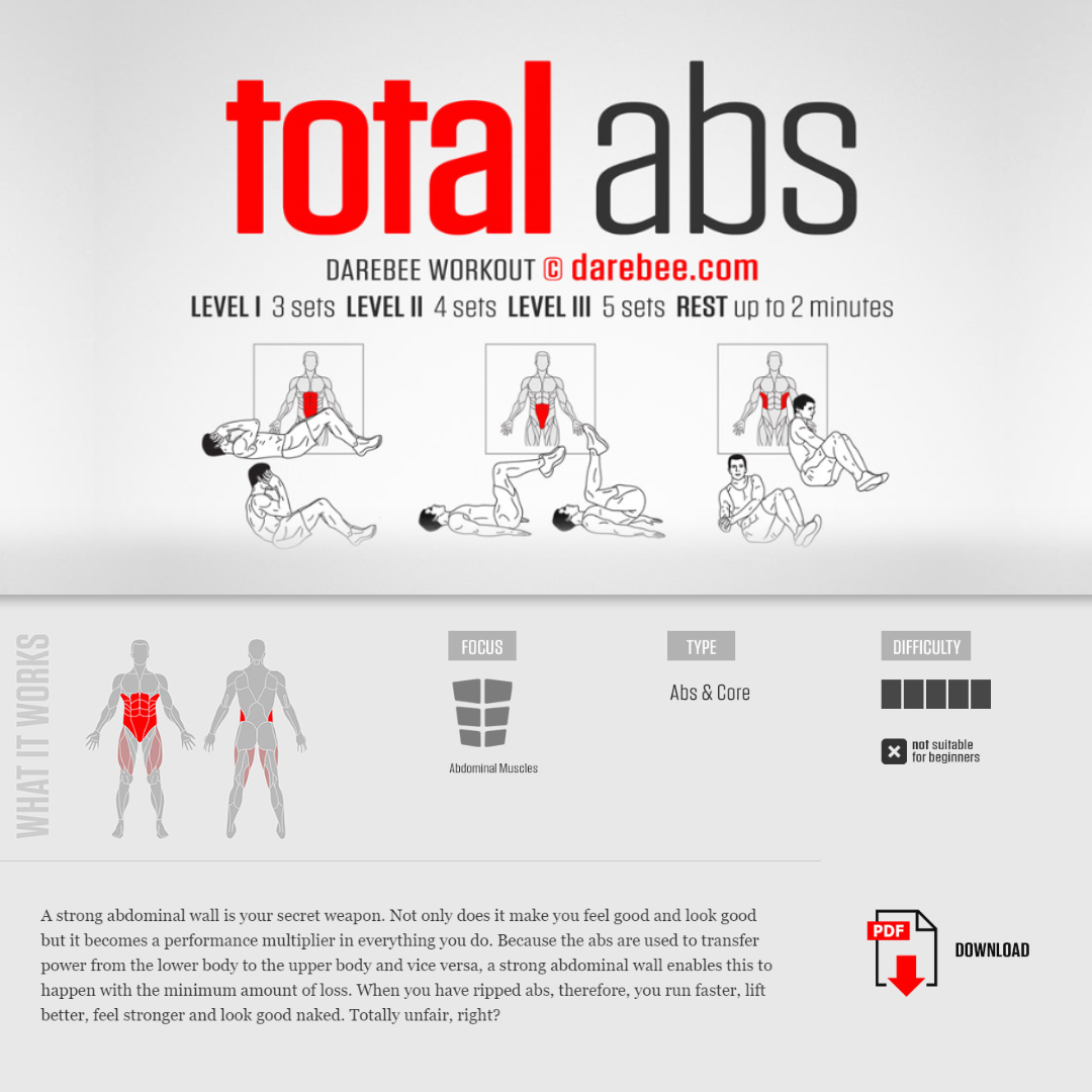 #PreGaming: DAREBEE Total Abs Workout