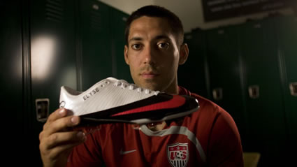 Clint Dempsey's Customized Cleats