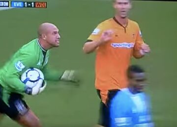 Tim Howard Goes Mental