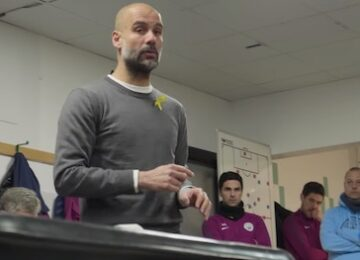 Pep Guardiola Half-Time Talk