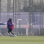Messi Training Goal