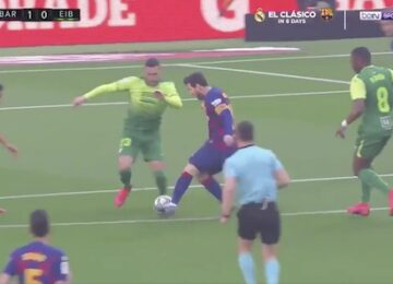 Messi Nutmeg Eibar