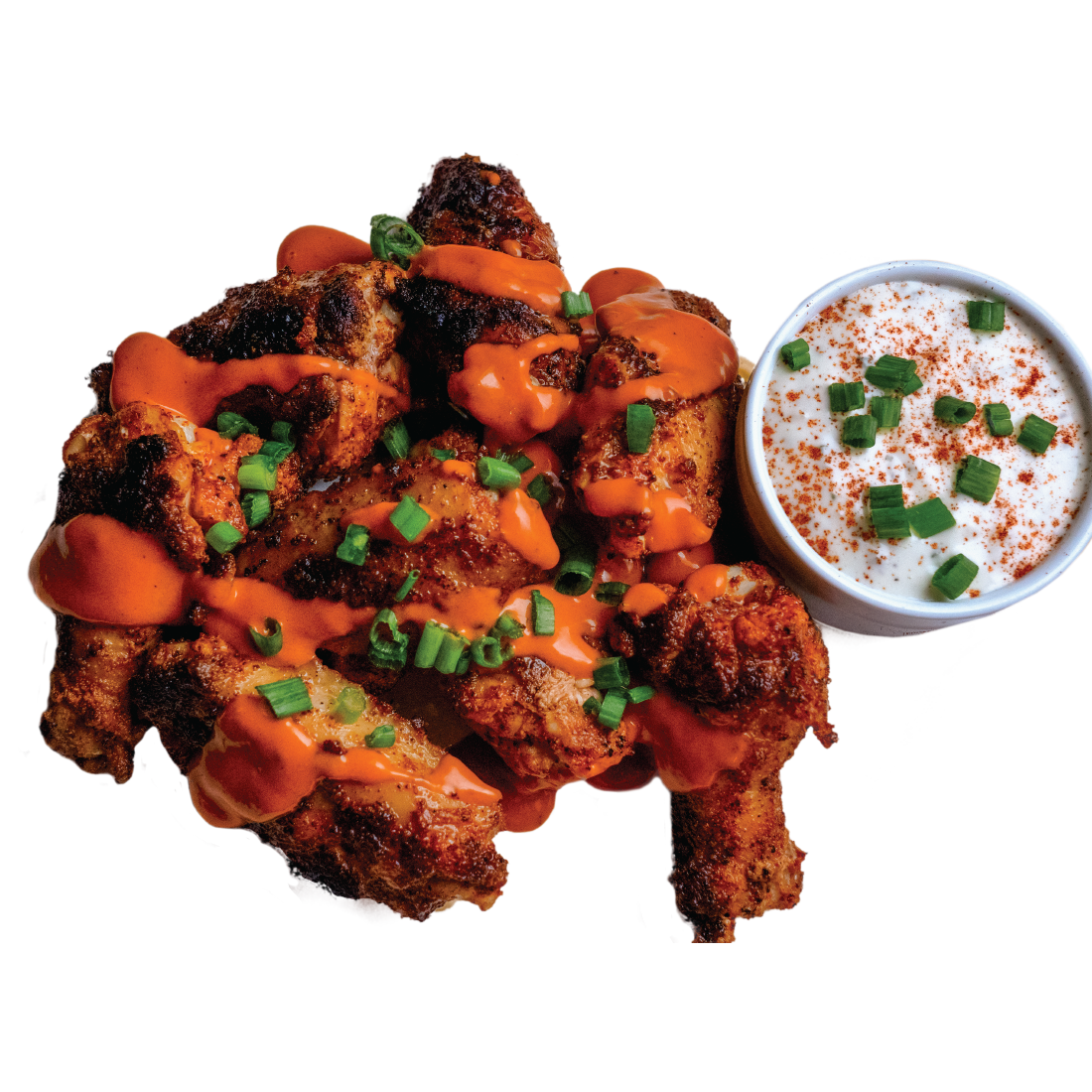 Roanoke Chicken Soul Bird Jumbo Wings
