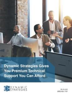 Business professionals are discussing the advantages of premium technical support