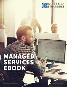 Managed Services eBook cover