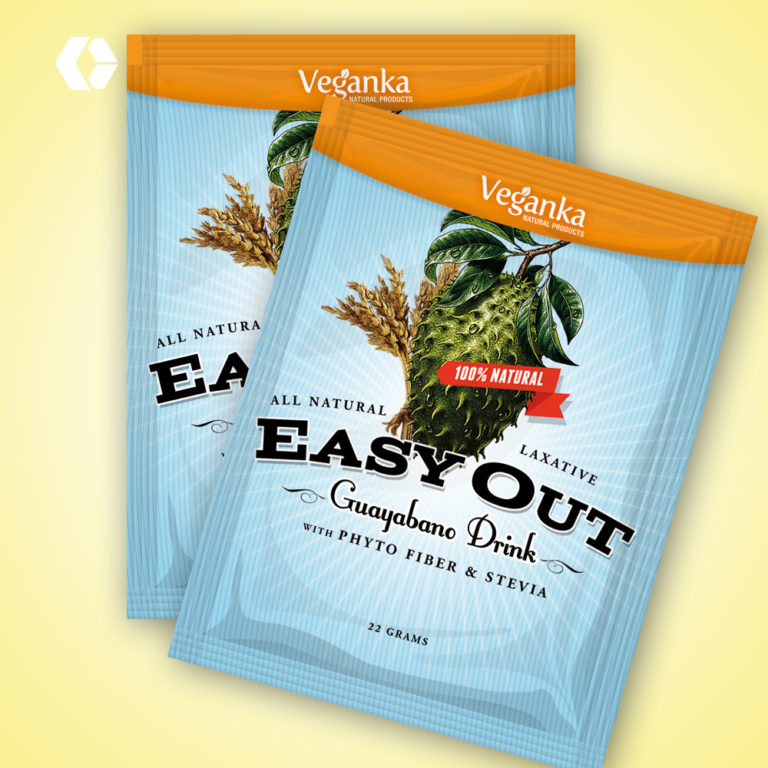 Easy Out Sachet Packaging Design