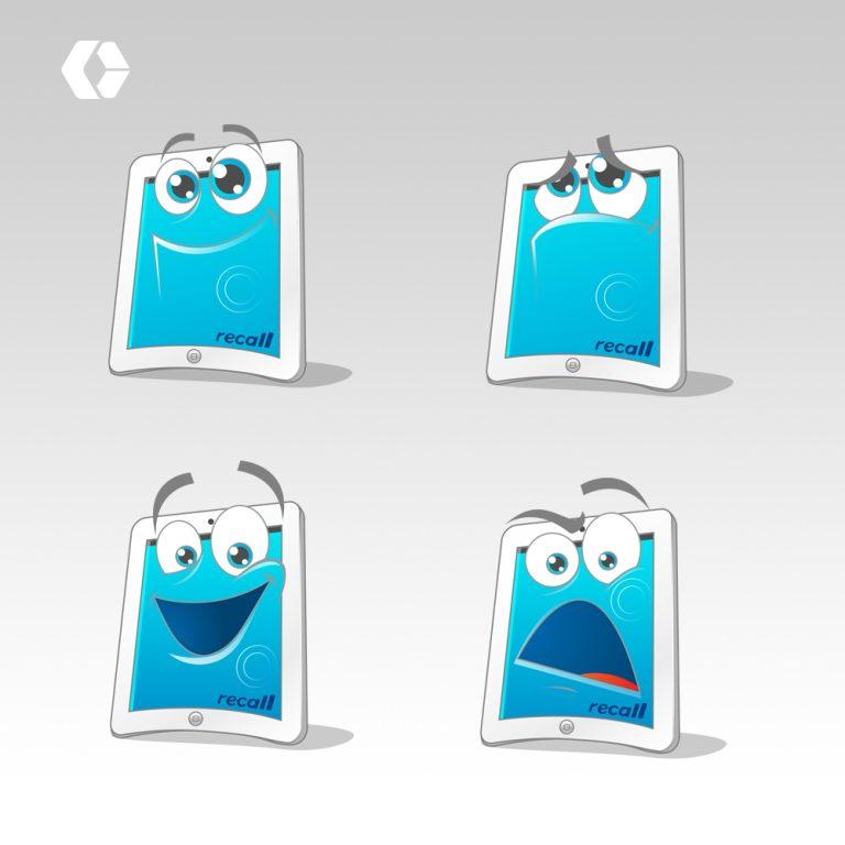 Mascot Illustration Versions