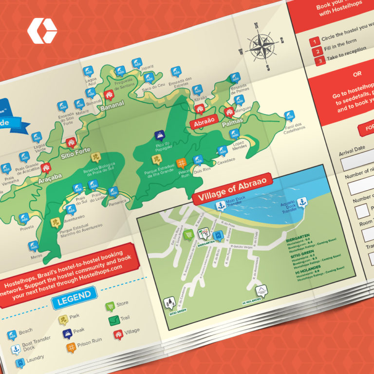 Detailed Color Map Illustration