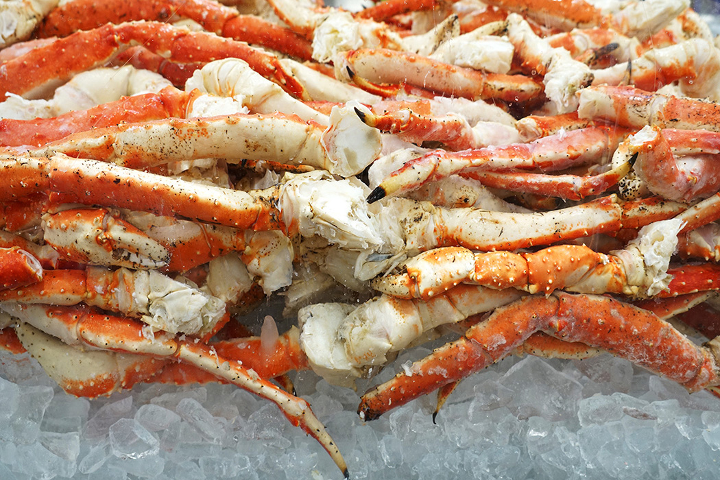 Bar Harbor Seafood frozen snow crab legs