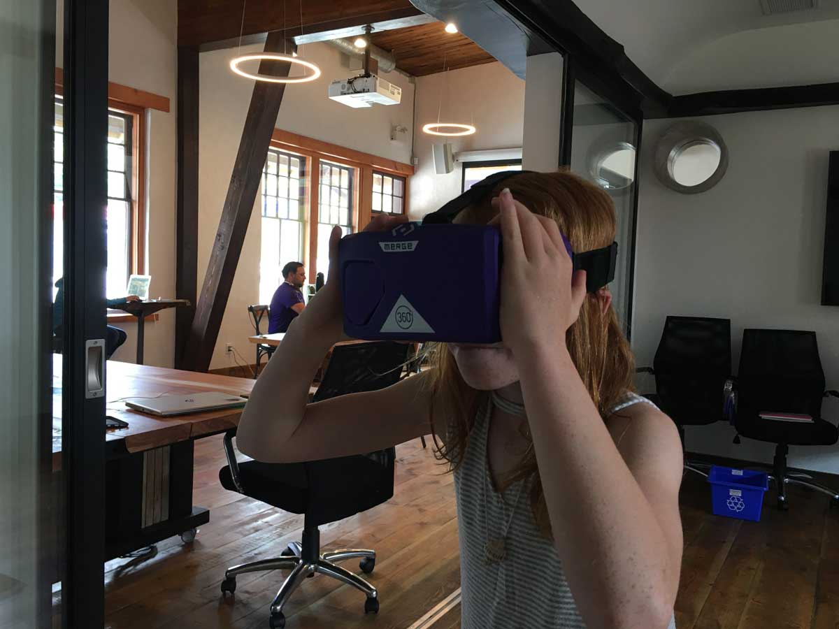 GLOWS Game Design with Virtual Reality Summer Camp
